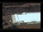 Apple's New iCloud Data Center and Solar Farm - Maiden, North Carolina