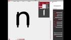Font generator / processing : prototyp-0