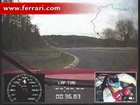 Ferrari 599XX record al Nurburgring on board