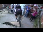 Amazing POV - downhill MTB bike race in Brazilian slum