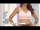 HSN Models Bra and Panties 3/8/13