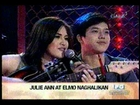 Showbiz Central - Julie Anne San Jose kinakabahan sa kissing scene nila ni Elmo Magalona