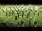 Euclid Panther and Shaw Cardinal Marching Bands 2012 Shaw Game