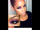 Makeup Tutorial: Dramatic Purple Smoky eyes