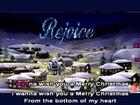 Animated Christmas Karaoke Feliz Navidad