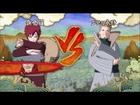 NARUTO 疾風伝 ナルティメットストーム3 - 第九章:影の闘い (我愛羅VS二代目水影 Sランク ノーダメージ) Part 5