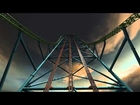 Six Flags Zumanjaro Drop Of Doom POV HD Animation B-Roll Great Adventure New For 2014! Kingda Ka