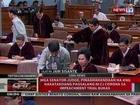 QRT: Mga senator-judge, pinaghahandaan na ang pagsalang ni CJ Corona sa impeachment bukas