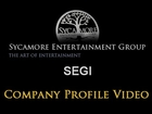 SEGI (Sycamore Entertainment Group, Inc.) Company Profile / Stock Video Chart 11-09-2012
