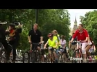 Thousands of cyclists take to London's streets