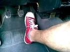 Revving in red All Stars