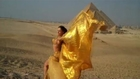Unseen footage! Giselle belly dancer Photoshoot beside the Giza Pyramids in Egypt...