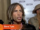 Steven Tyler Talks about Dita Von Teese
