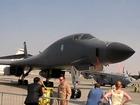 Le B-1 Lancer de Boeing au salon de Dubai