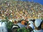 Brazil 2011 Carnival Baianas Wash Evil Spirits at Sambadrome
