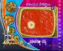 Abhiruchi - Recipes - Vankaya Pachi Senagapappu, Tomato Kobbari Lavuju & Tamalapaku Bajjilu - 02