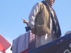 Dr Qadir Magsi Welcomes Nawaz Sharif inSUP Jalsa at Hala
