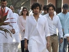 B town Pays Condolences To Sonu Nigams Mother